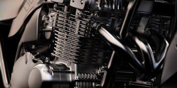 o motor da motocicleta está fraco