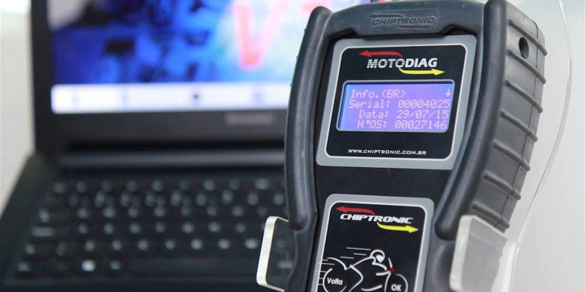 Video instruções de uso do Scanner Motodiag – Aula 6: Como ver o Serial do Motodiag