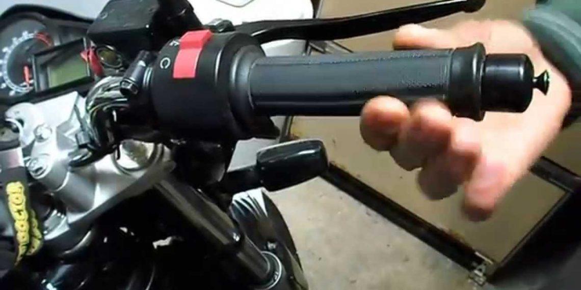 Por que a moto não funciona mesmo virando a manopla aceleradora?
