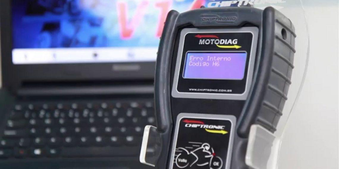 Video instruções de uso do Motodiag – Aula 8: ERRO H6