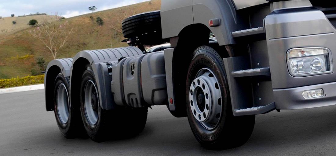 Veículos diesel pesados: regulagem dos freios