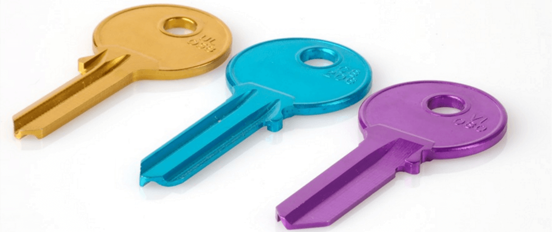Aprenda a fazer cópias de chave coloridas