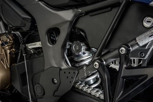Suspensão da moto