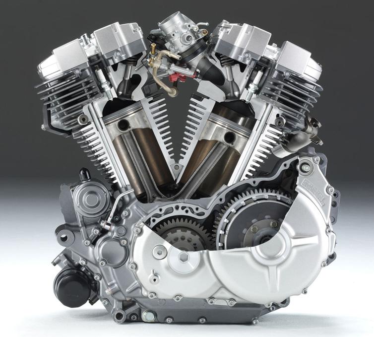 Motor de uma moto