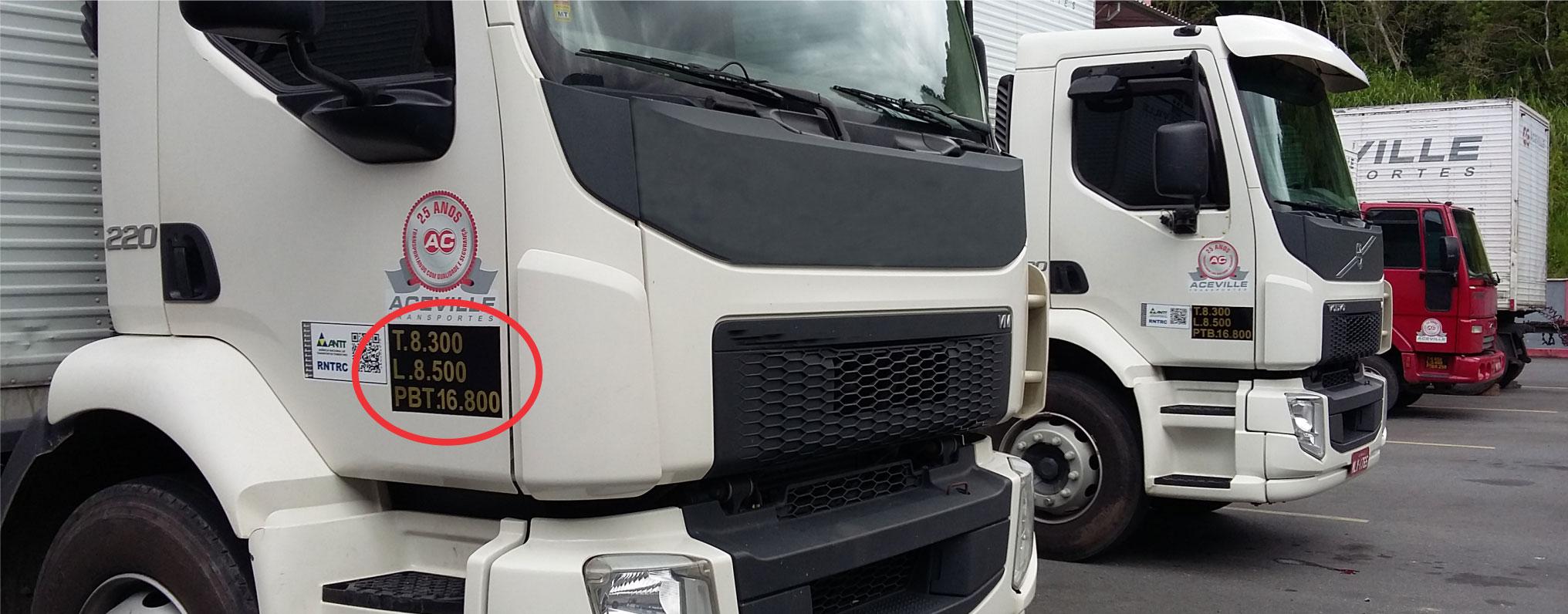Significado de Tara de caminhões
