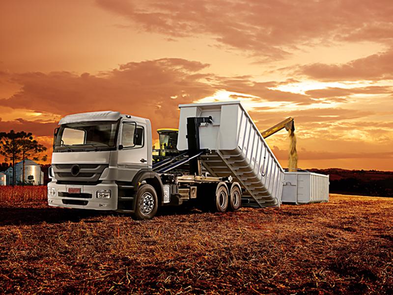 manutenção de caminhões agrícolas