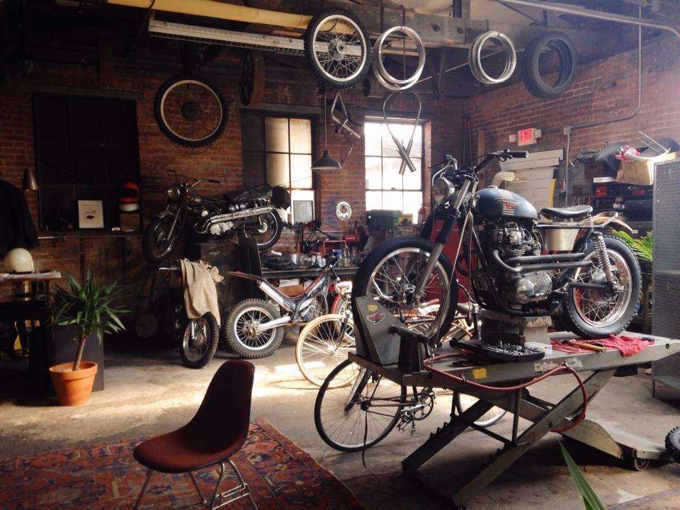 Oficina de motocicletas