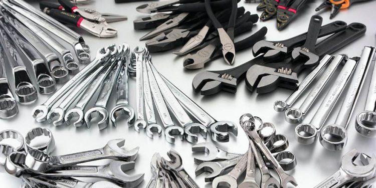 Diversas ferramentas para oficinas mecânicas