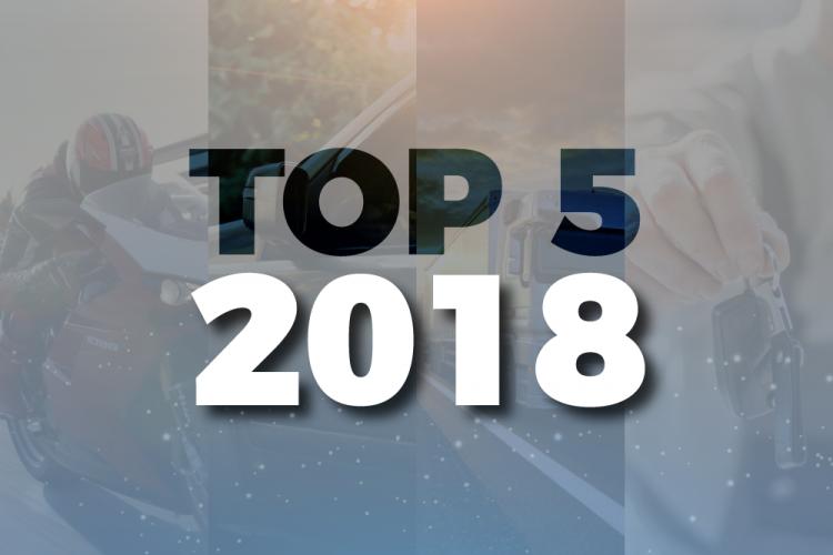 posts mais acessados, top 5 2018
