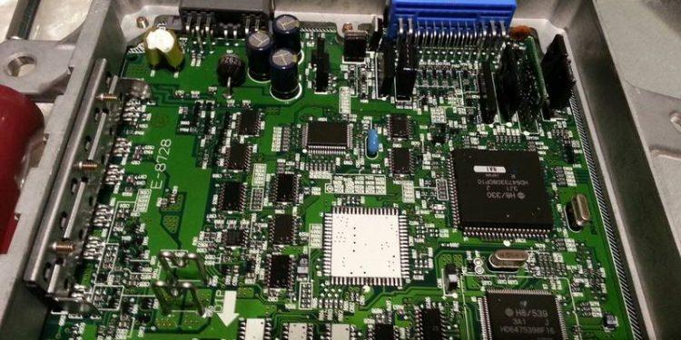 central de injeção eletrônica