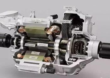 motor elétrico de carro