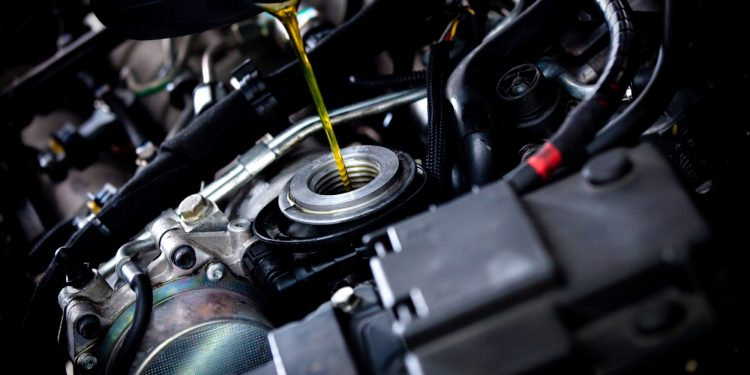 óleo lubrificante para motor diesel
